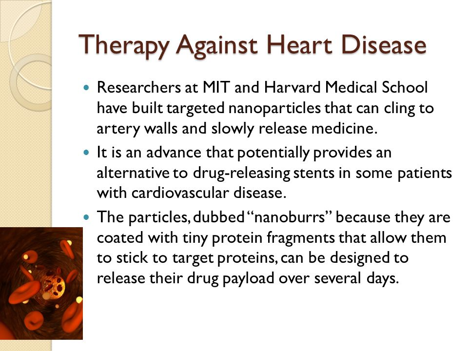 Therapy Against Heart Disease