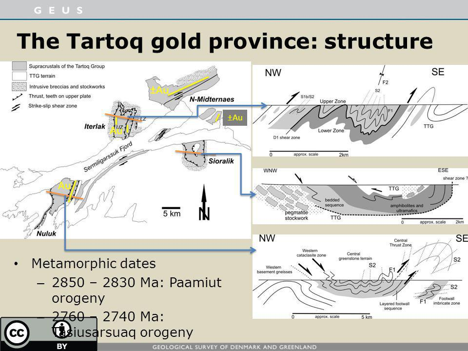 The Tartoq gold province: structure