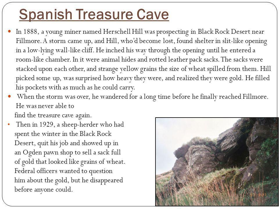 Spanish Treasure Cave