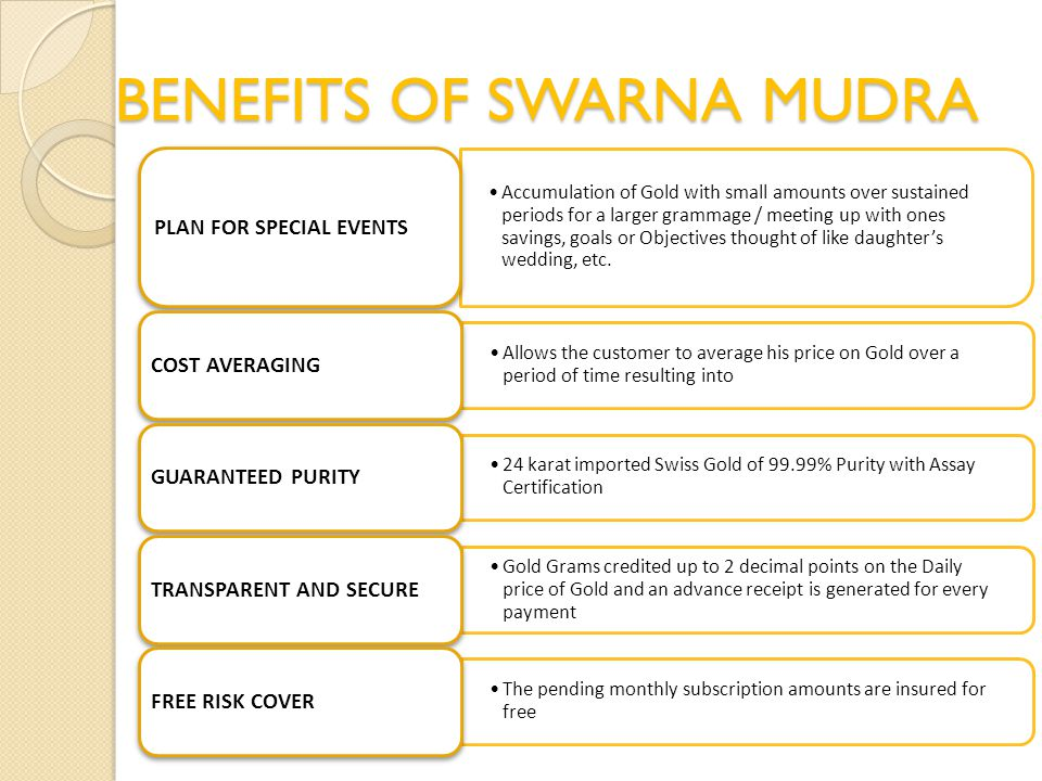 BENEFITS OF SWARNA MUDRA