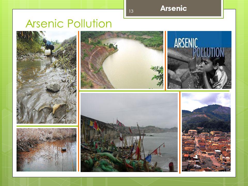 Arsenic Pollution Arsenic