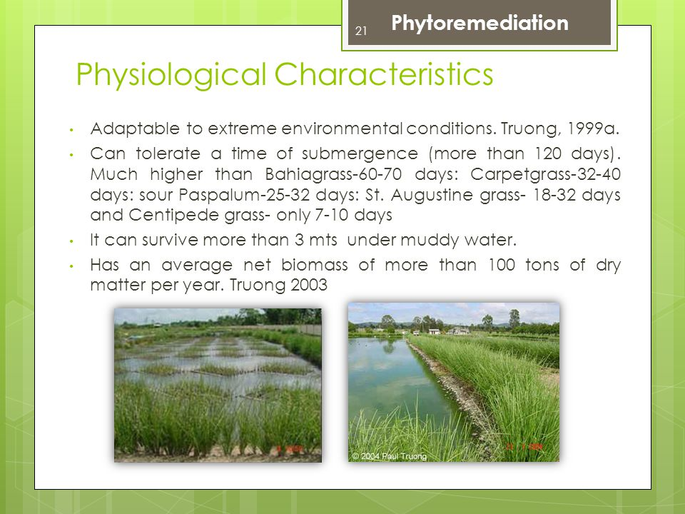 Physiological Characteristics