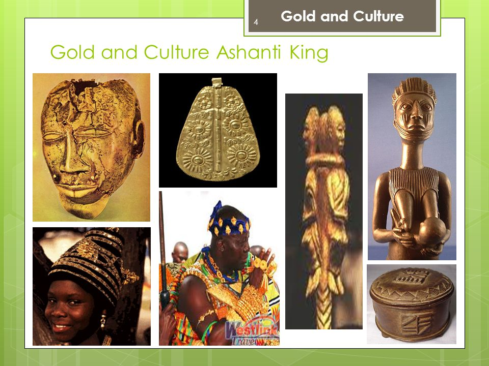 Gold and Culture Ashanti King