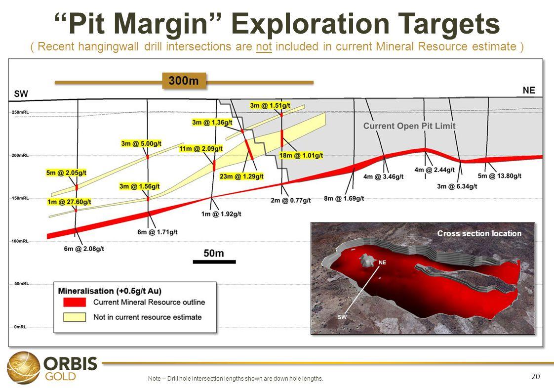Pit Margin Exploration Targets