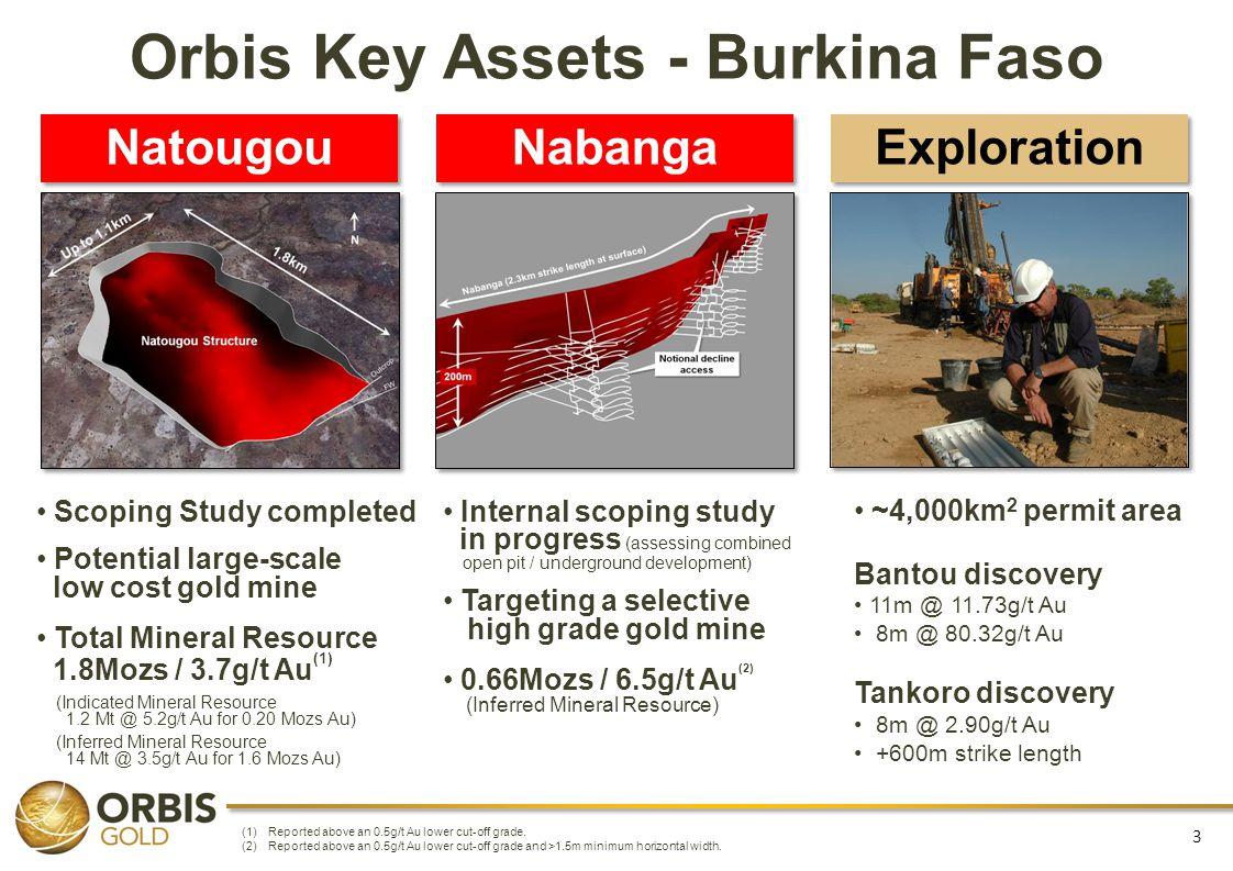 Orbis Key Assets - Burkina Faso