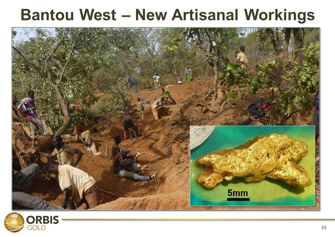 Bantou West – New Artisanal Workings