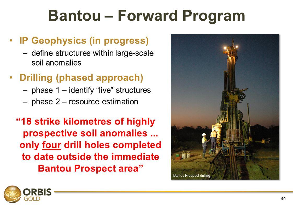 Bantou – Forward Program