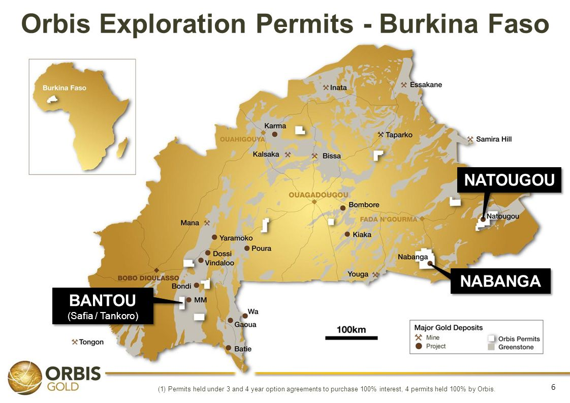 Orbis Exploration Permits - Burkina Faso
