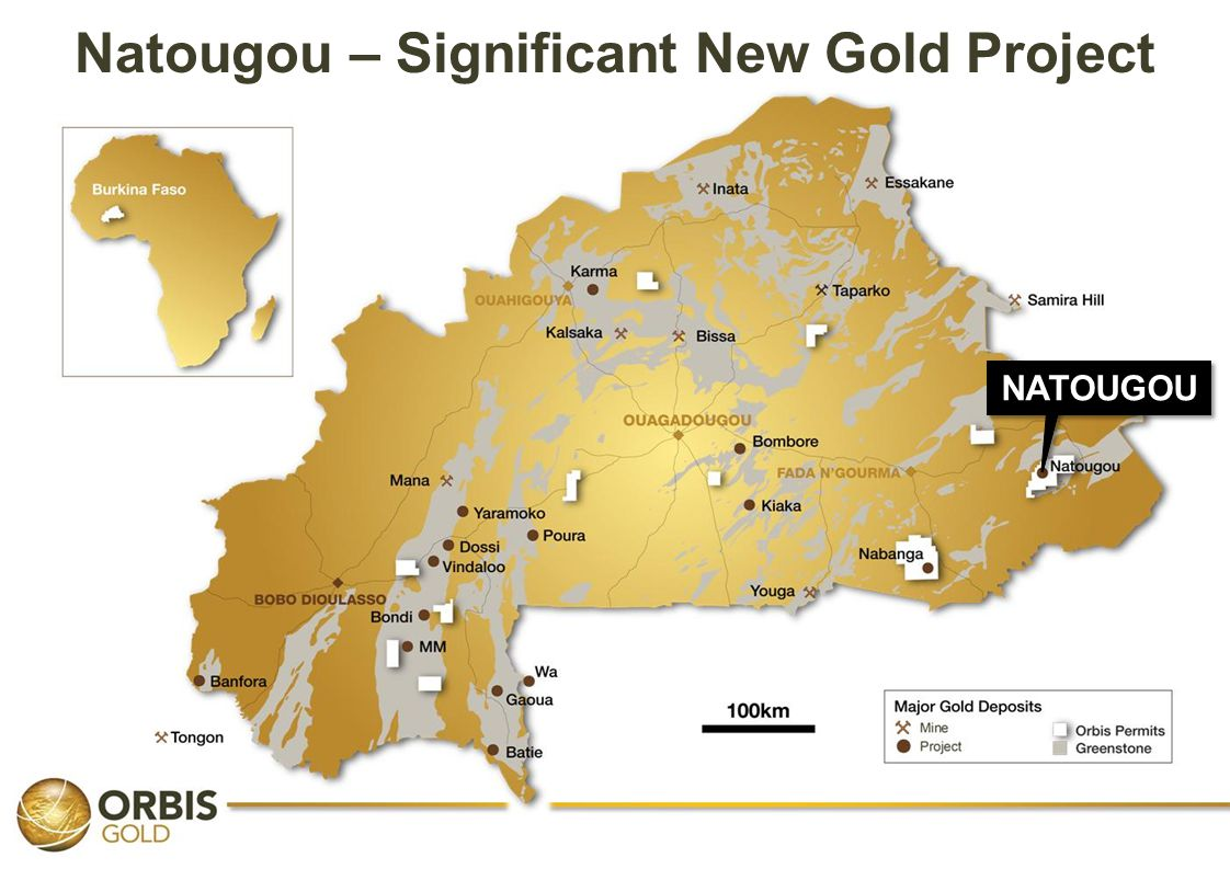 Natougou – Significant New Gold Project