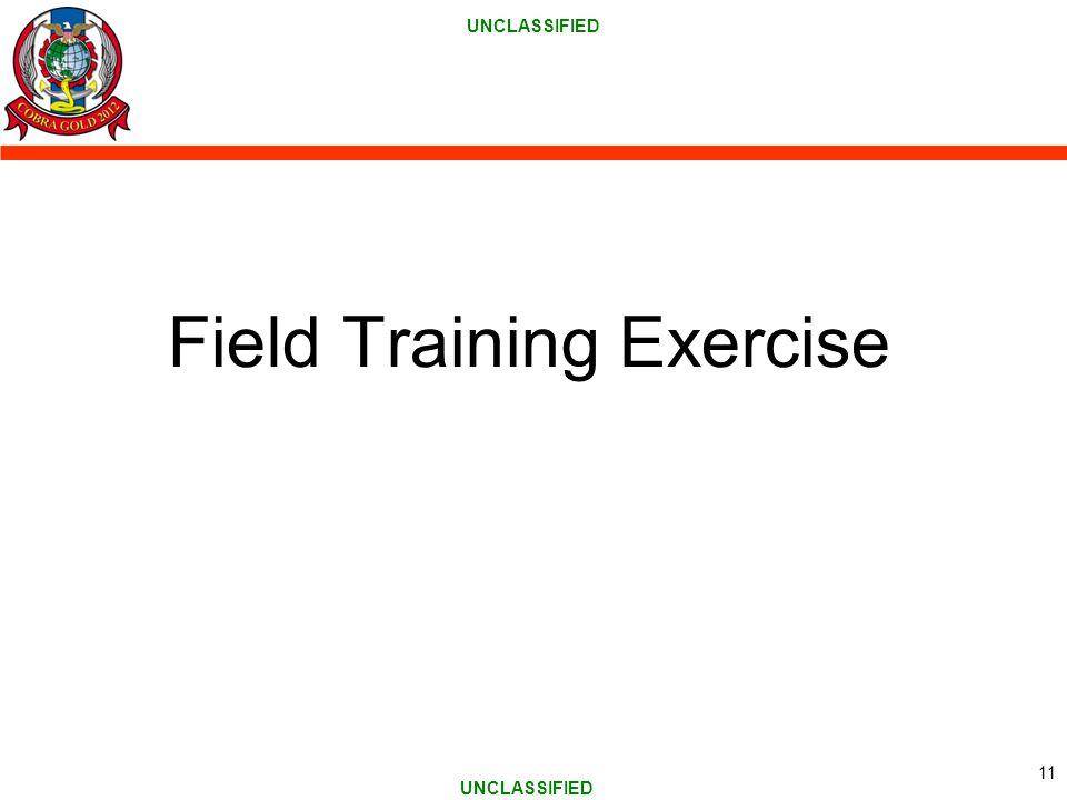 Field Training Exercise