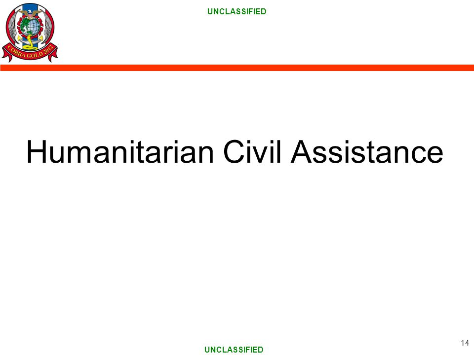Humanitarian Civil Assistance