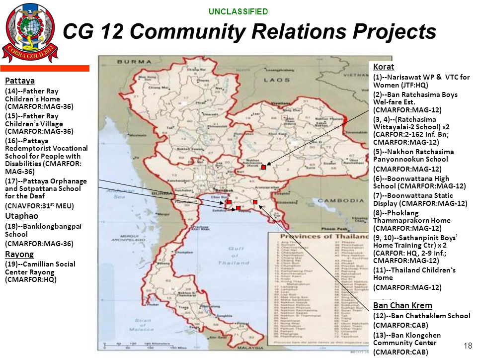 CG 12 Community Relations Projects