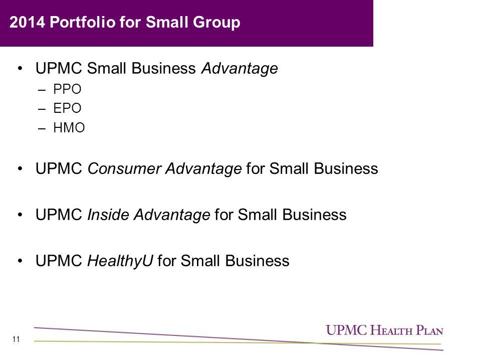 2014 Portfolio for Small Group
