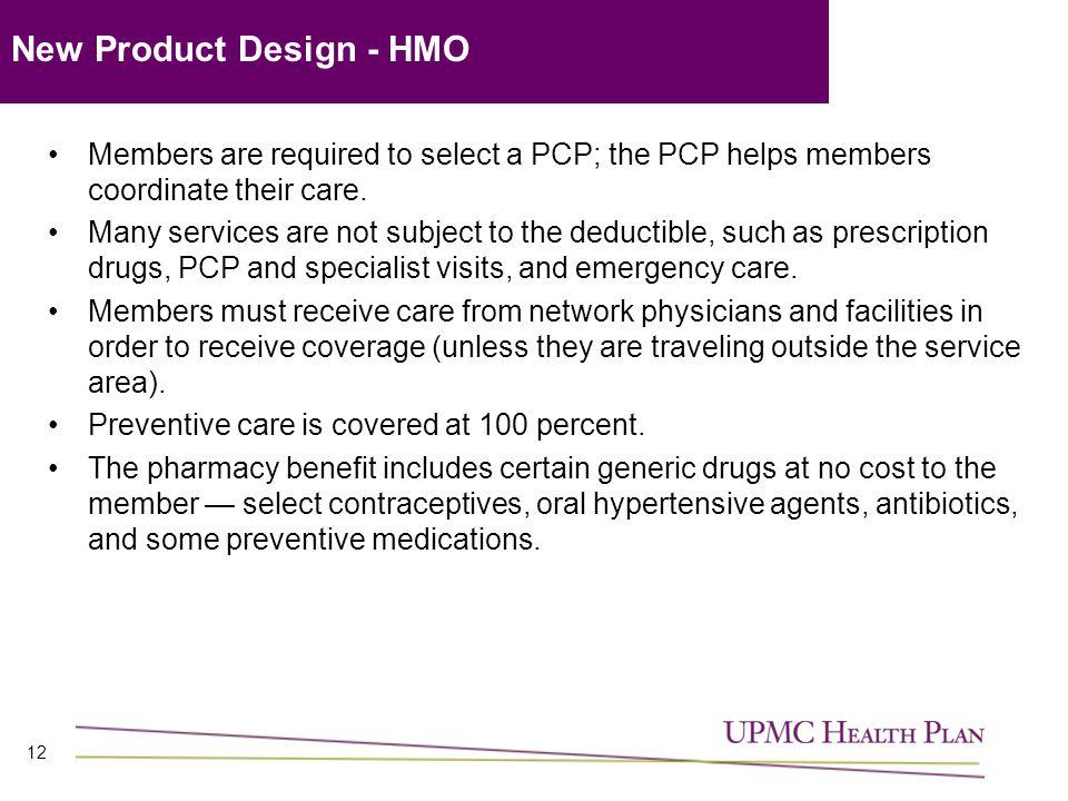 New Product Design - HMO