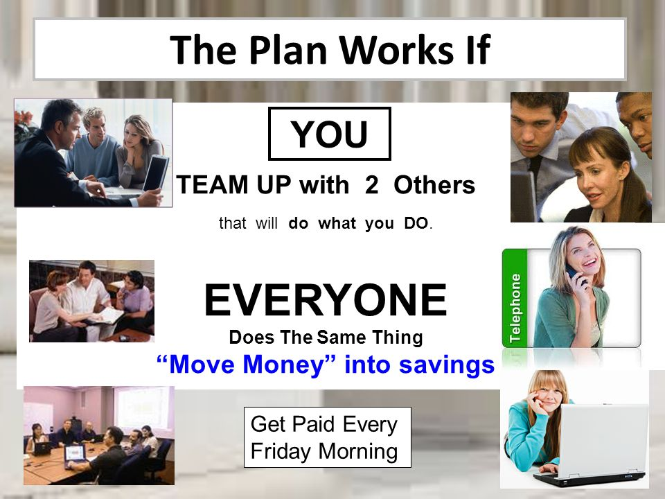 Move Money into savings