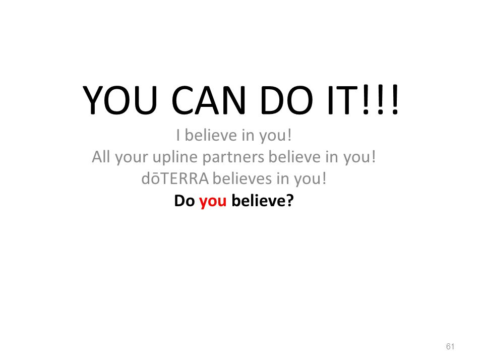 YOU CAN DO IT!!! I believe in you!
