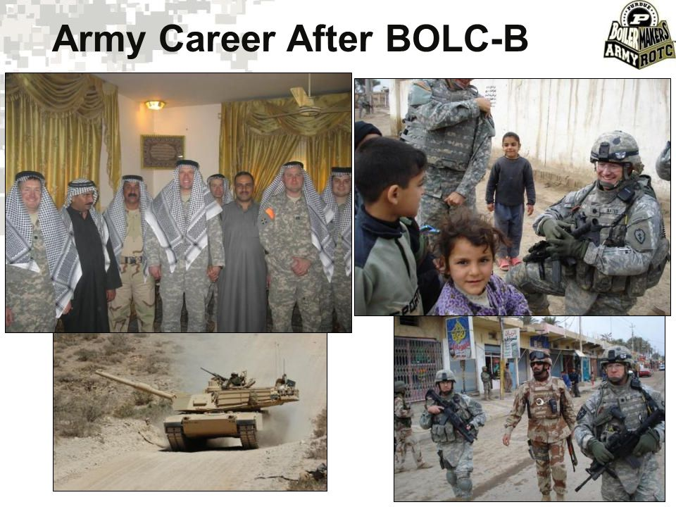Army Career After BOLC-B
