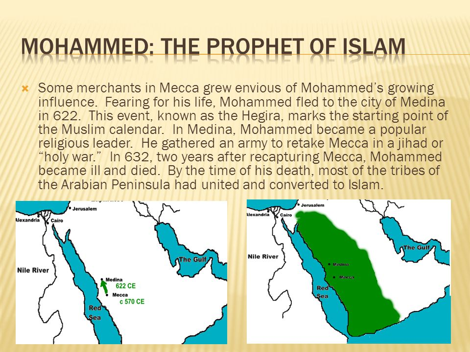 Mohammed: The Prophet of Islam