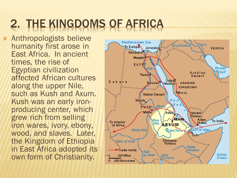 2. The Kingdoms of Africa