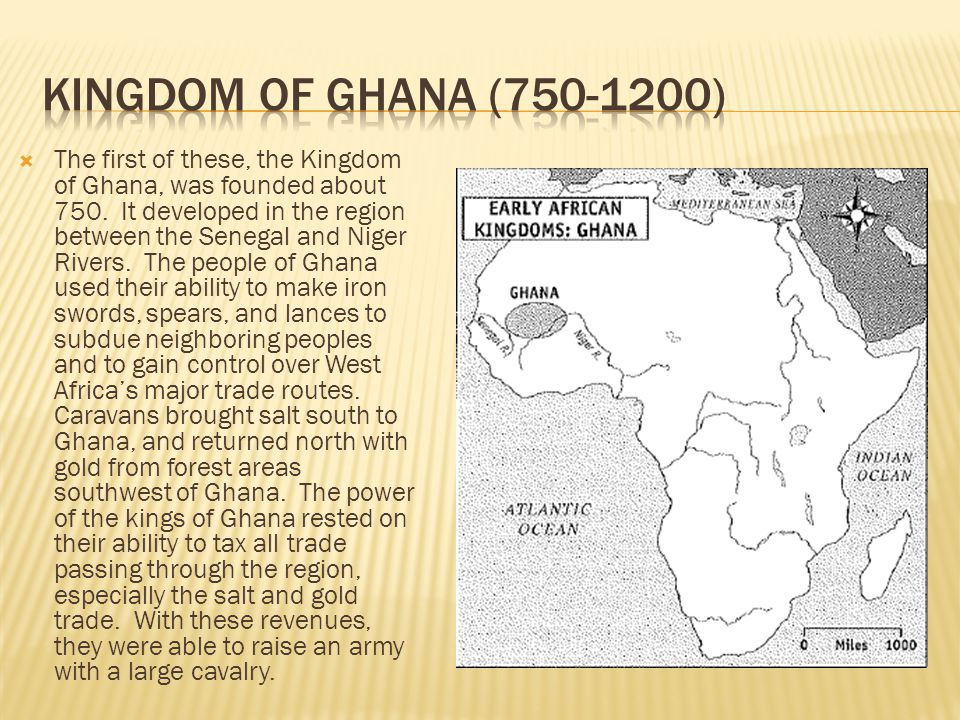 Kingdom of Ghana ( )
