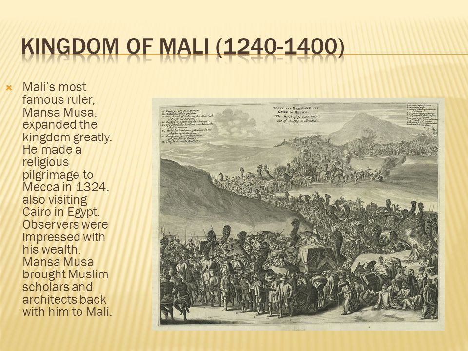 Kingdom of Mali (1240-1400)