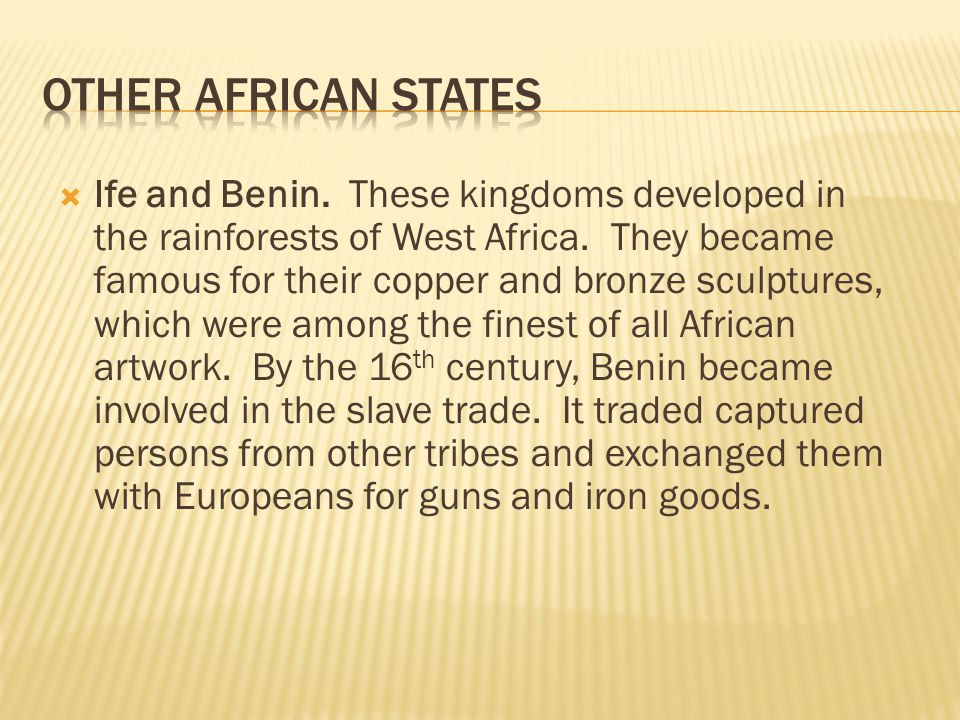 Other African States