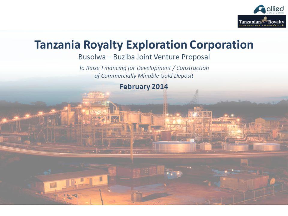 Tanzania Royalty Exploration Corporation