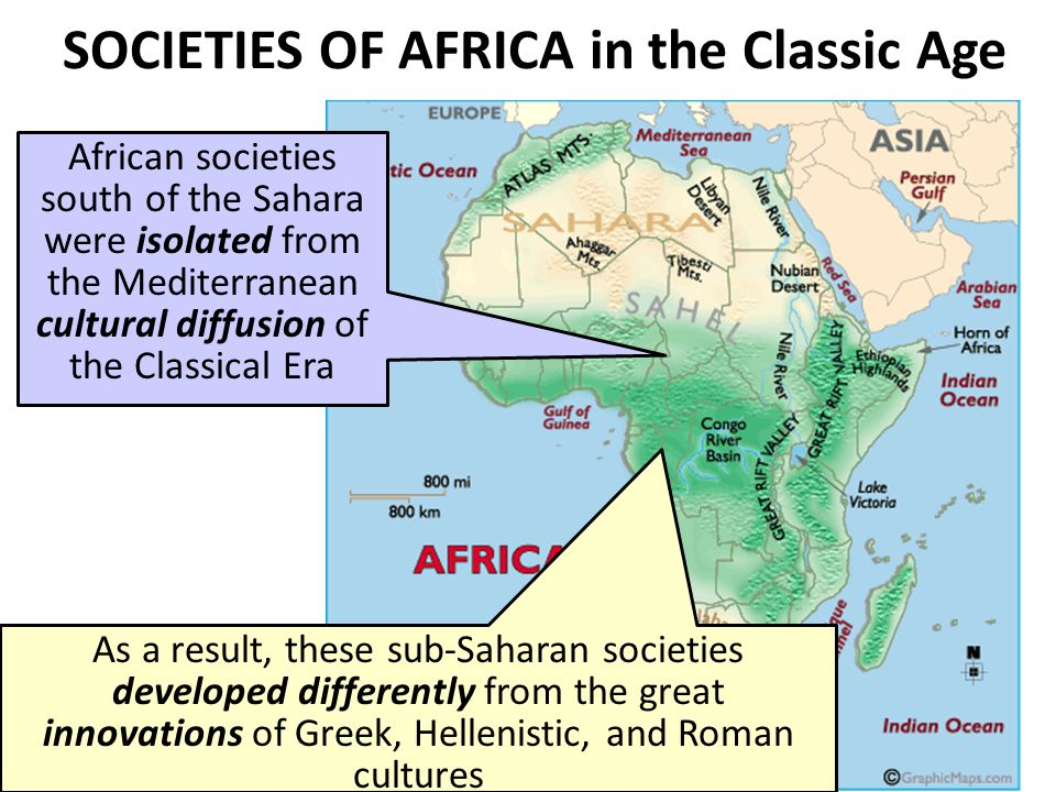 SOCIETIES OF AFRICA in the Classic Age