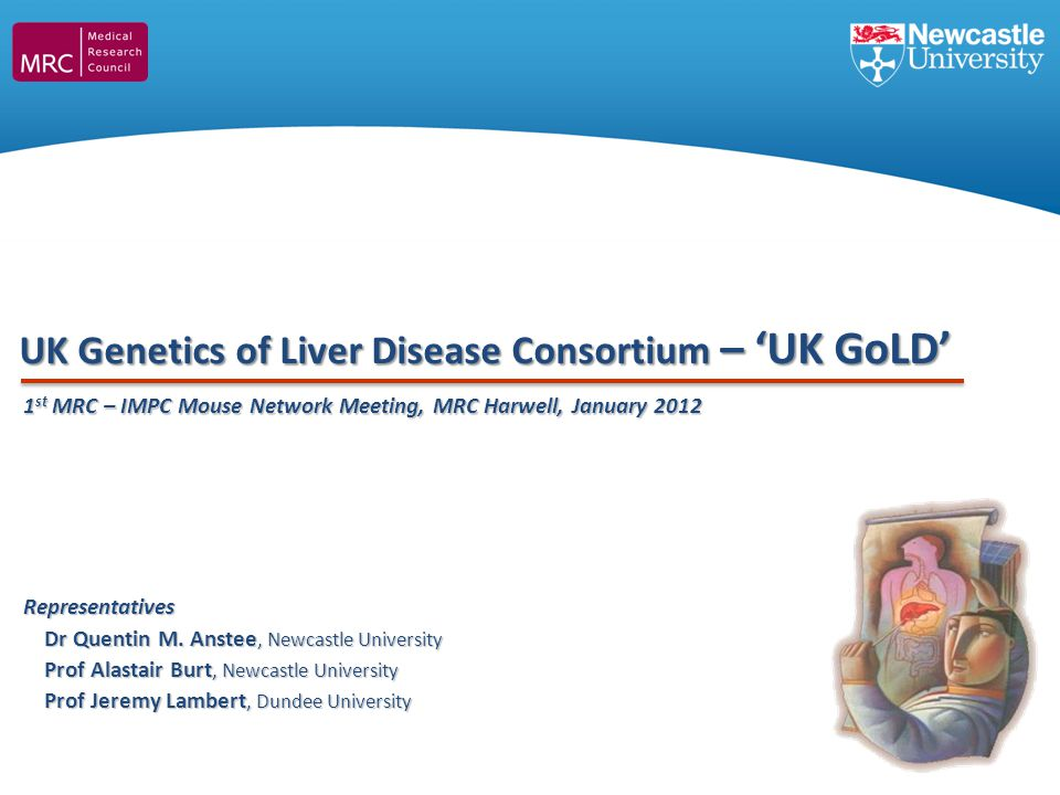 UK Genetics of Liver Disease Consortium – 'UK GoLD'