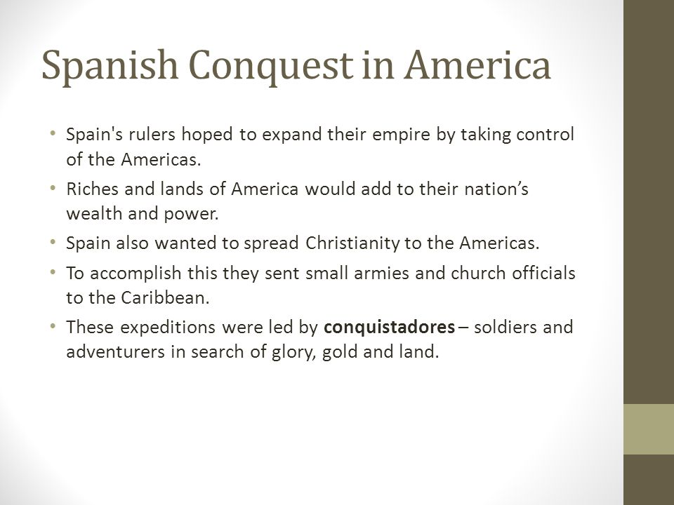 Spanish Conquest in America