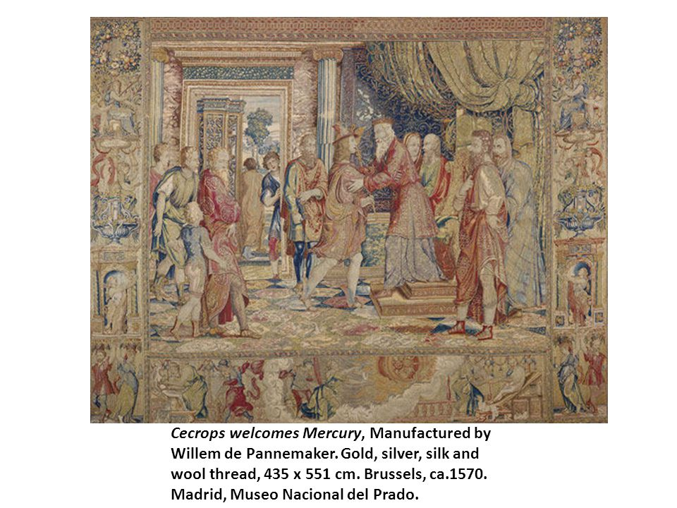 Cecrops welcomes Mercury, Manufactured by Willem de Pannemaker