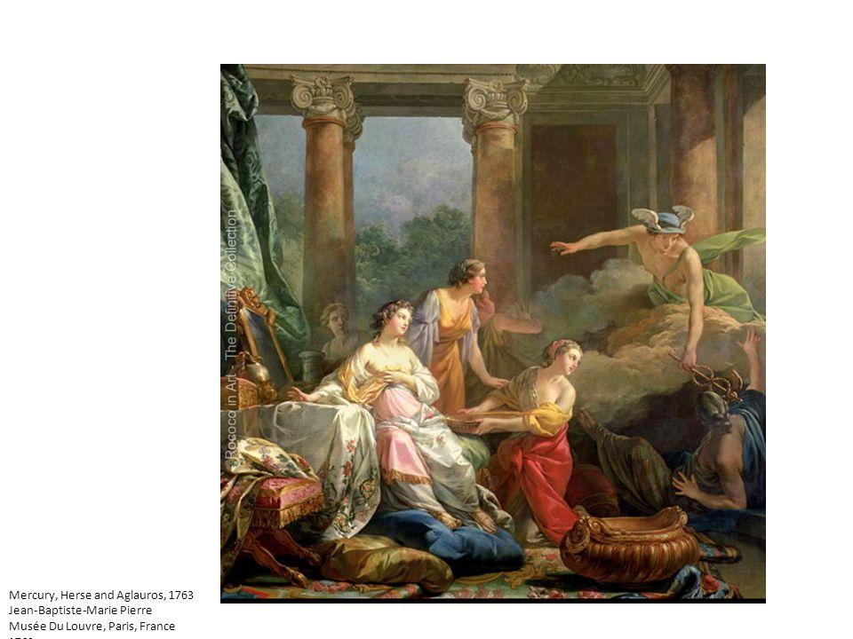 Mercury, Herse and Aglauros, 1763