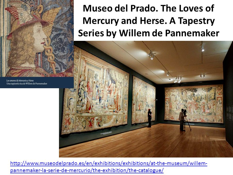 Museo del Prado. The Loves of Mercury and Herse