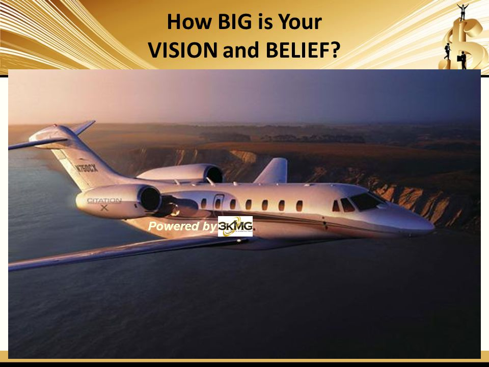 How BIG is Your VISION and BELIEF