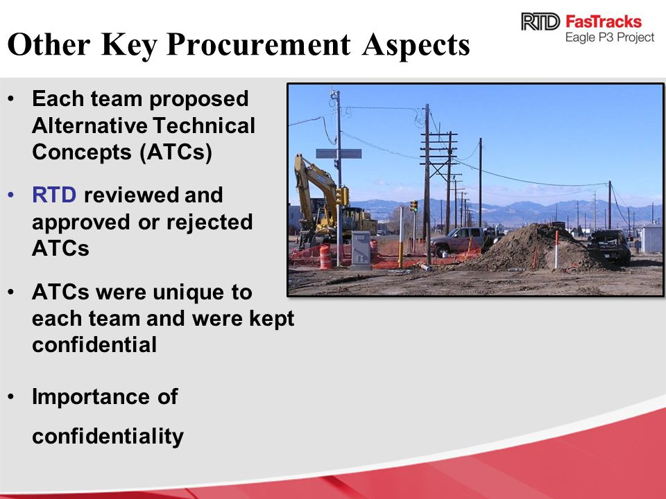 Other Key Procurement Aspects