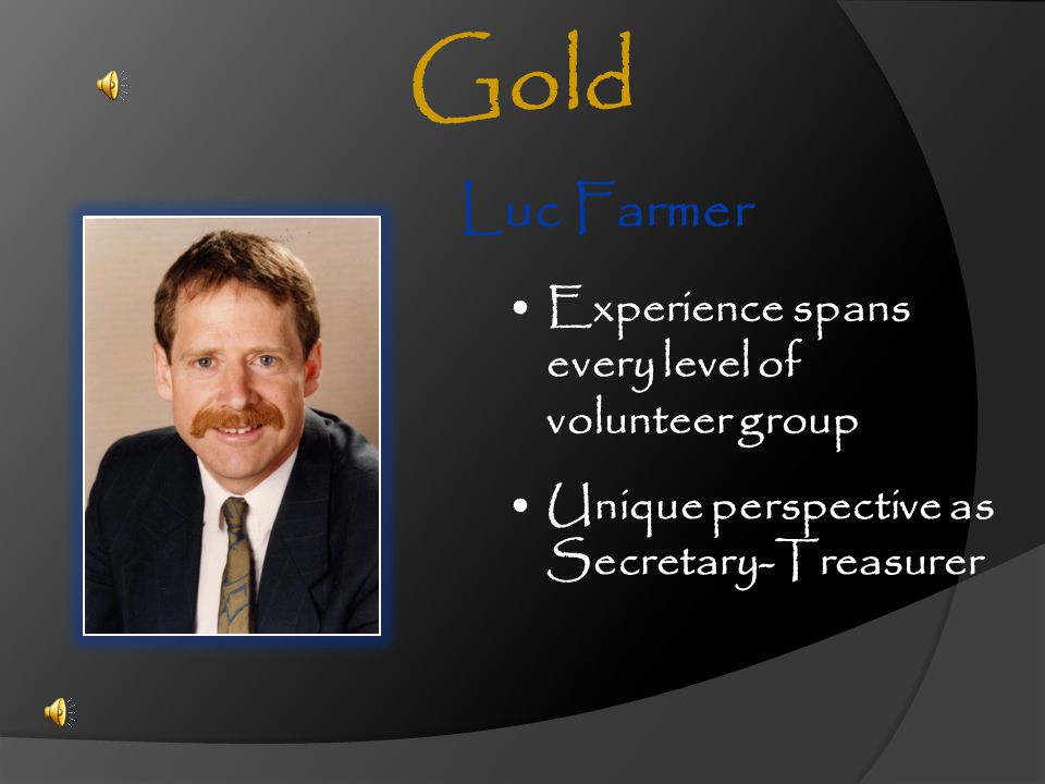 Gold Luc Farmer Experience spans every level of volunteer group