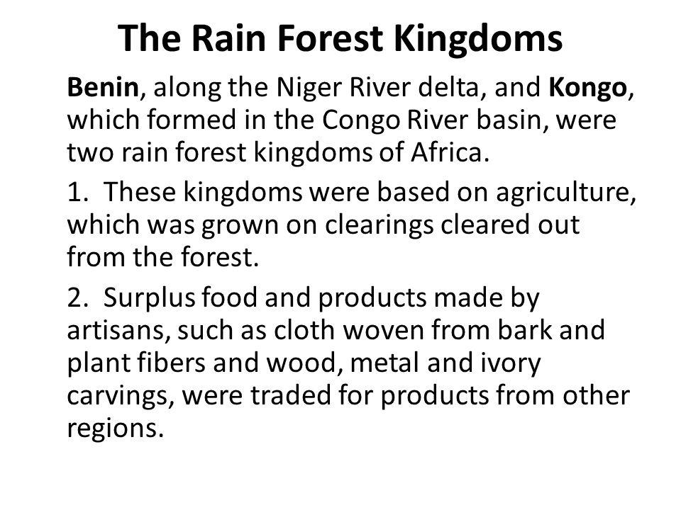 The Rain Forest Kingdoms