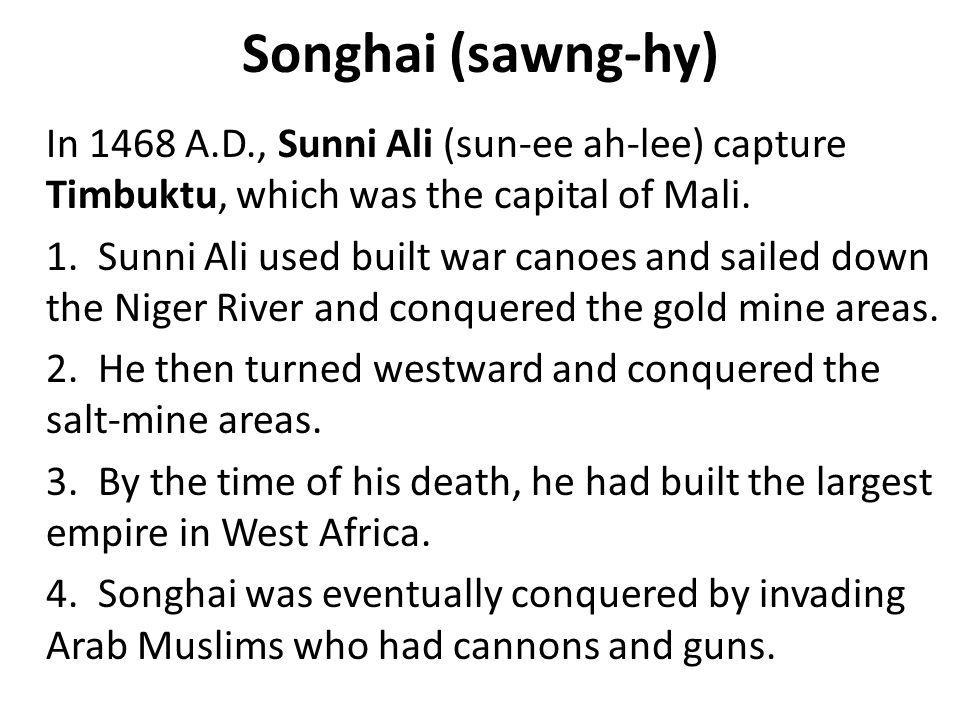 Songhai (sawng-hy)
