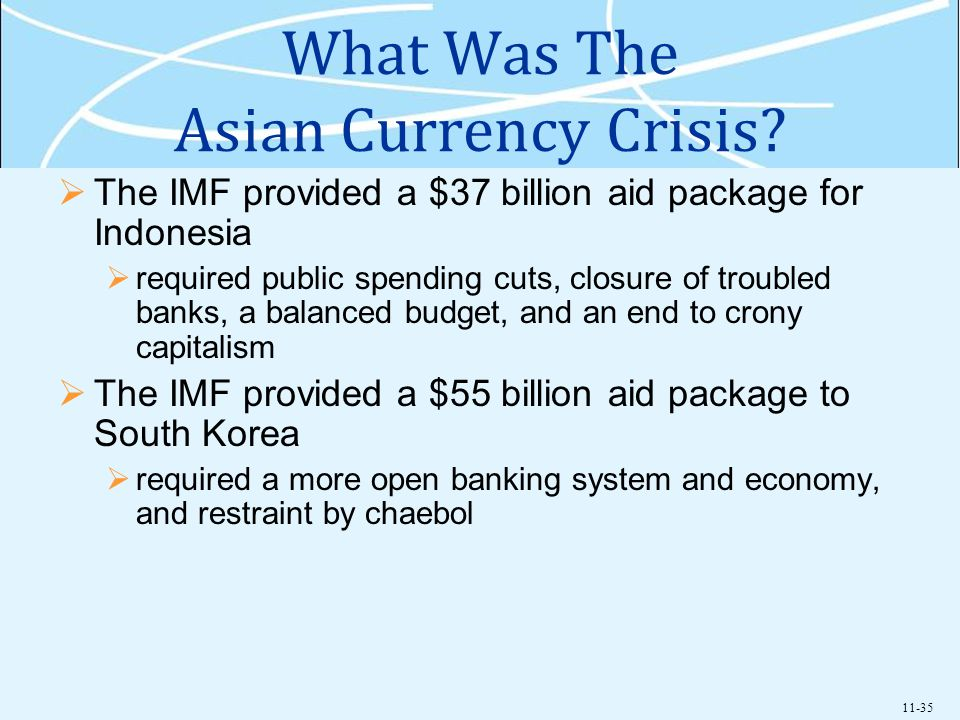What Was The Asian Currency Crisis