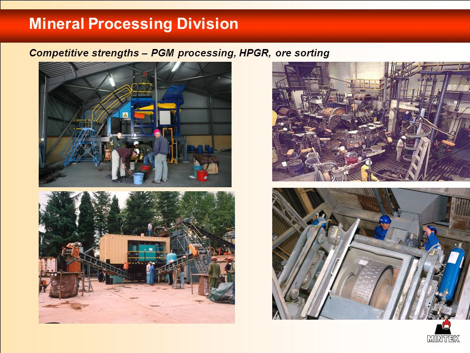 Mineral Processing Division