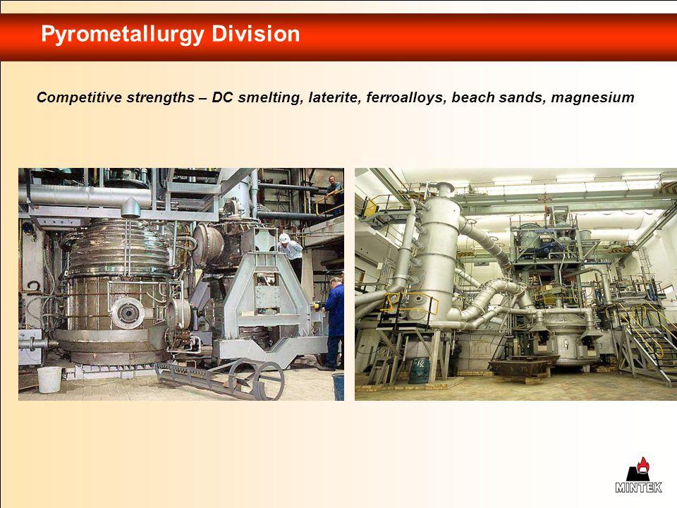 Pyrometallurgy Division