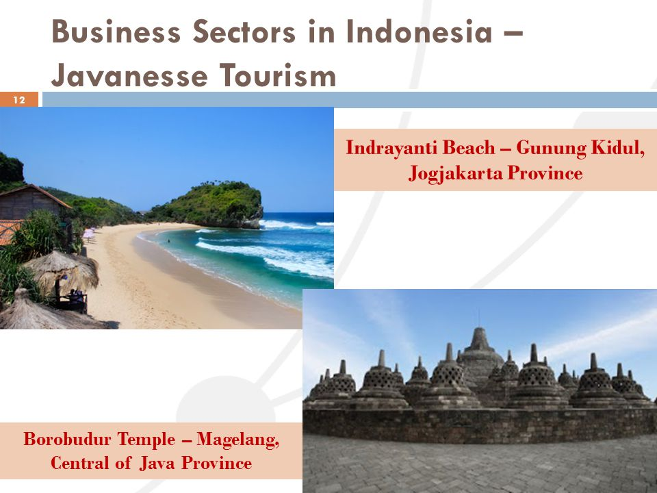 Business Sectors in Indonesia – Javanesse Tourism