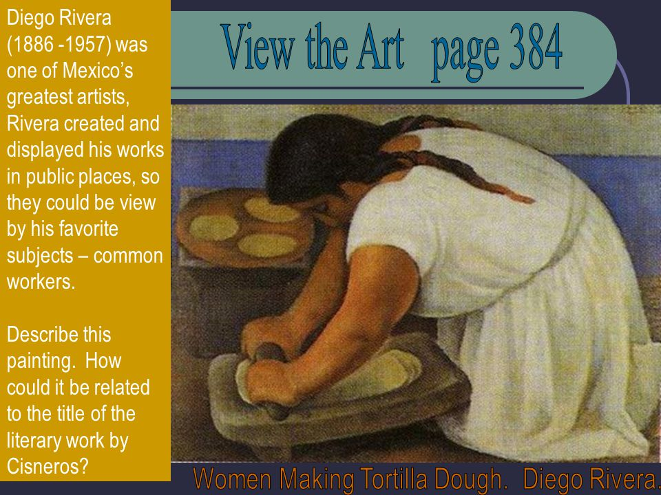 Women Making Tortilla Dough. Diego Rivera.