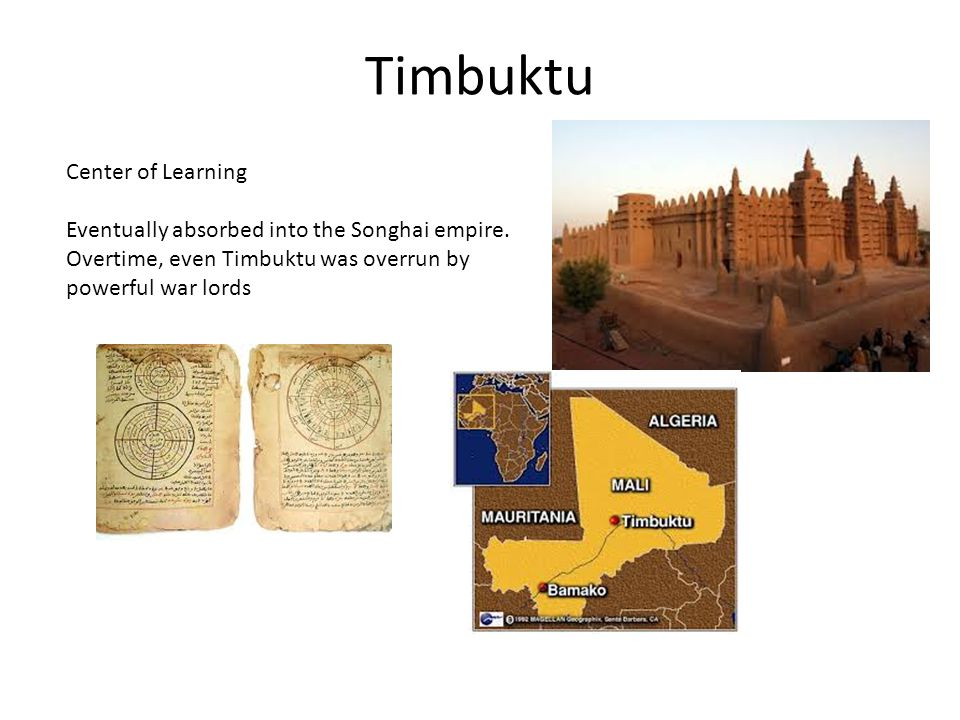 Timbuktu Center of Learning