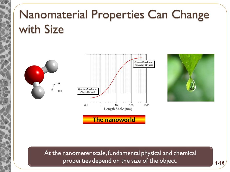 Topic 3: How is the nanoscale different from the macroscale or the atomic scale