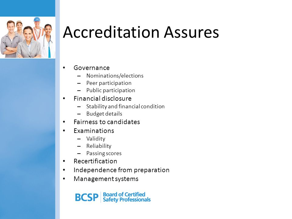 Accreditation Assures