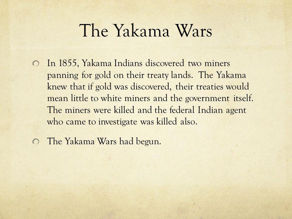 The Yakama Wars