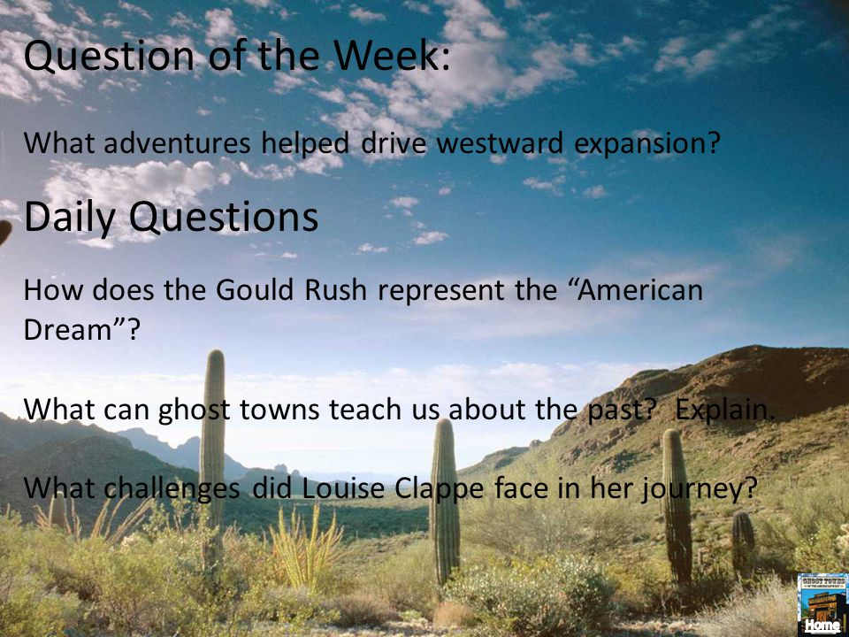 Question of the Week: Daily Questions