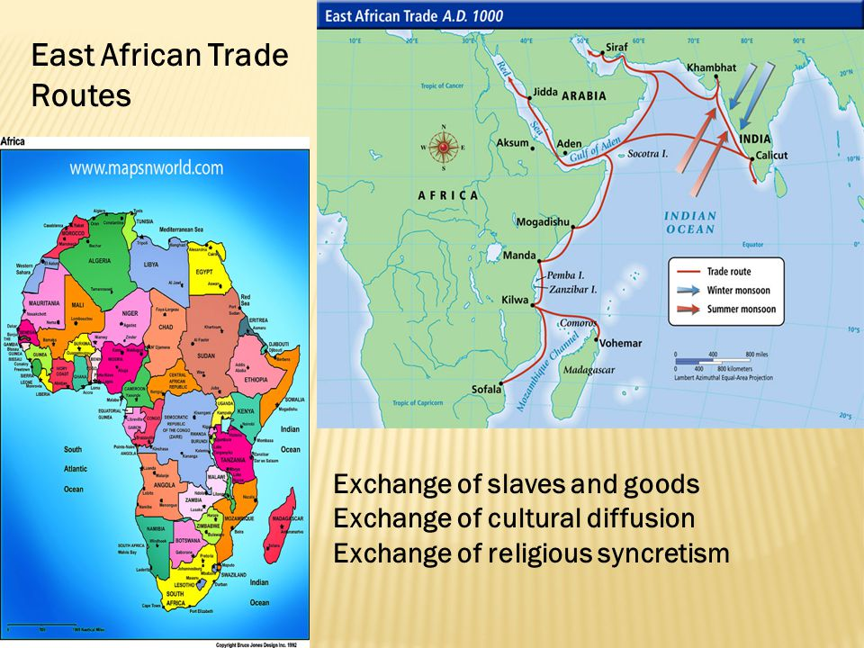 East African Trade Routes