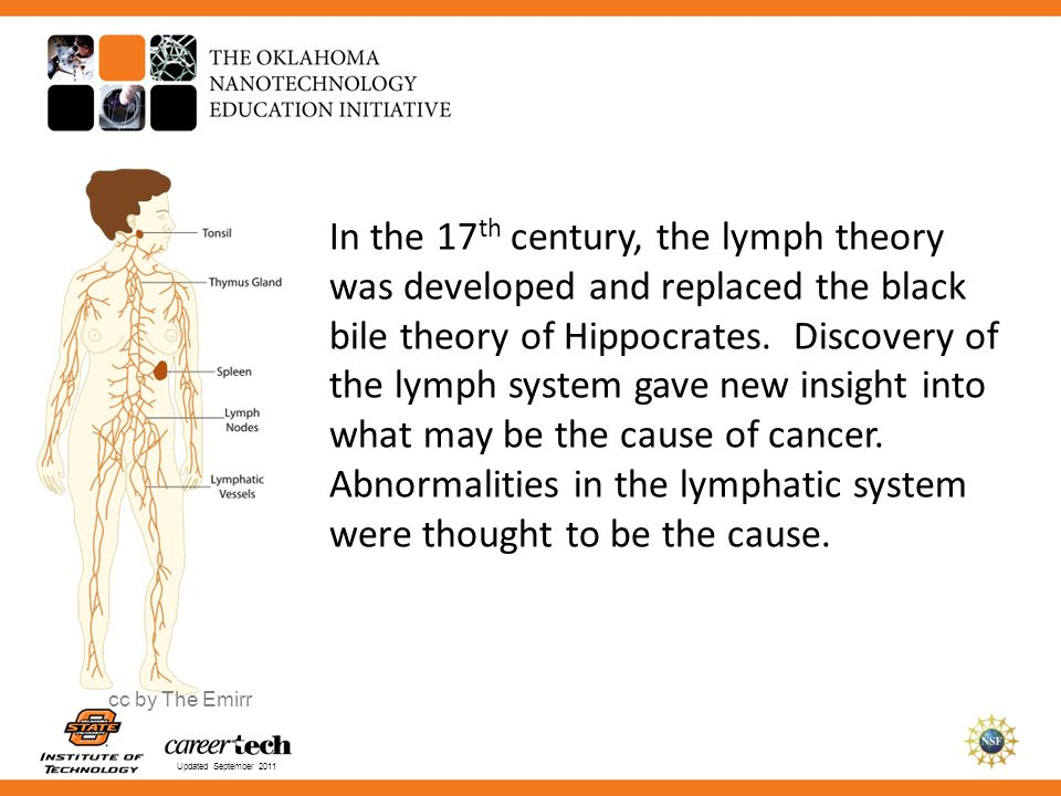 Abnormalities in the lymphatic system were thought to be the cause.